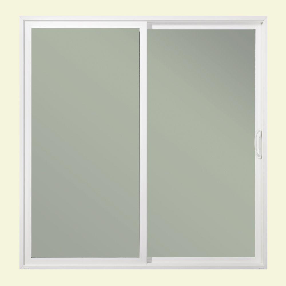 Jeld wen 72 in x 80 in premium atlantic white painted for Impact rated doors