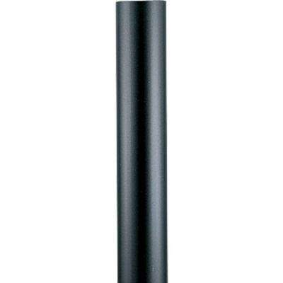 Black 7 ft. Exterior Lamp Post