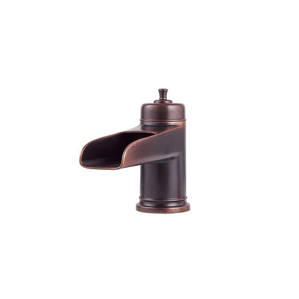 Rustic Looking Bathroom Faucets: Pfister Ashfield 2-Handle Deck Mount Roman Tub Faucet Trim