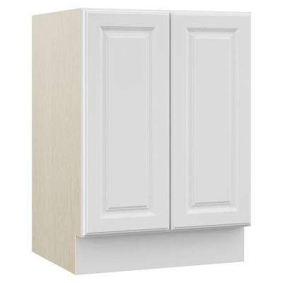 Cambridge 24 in. W x 21.5 in. D x 33.5 in. H Bath Vanity Cabinet Only in White