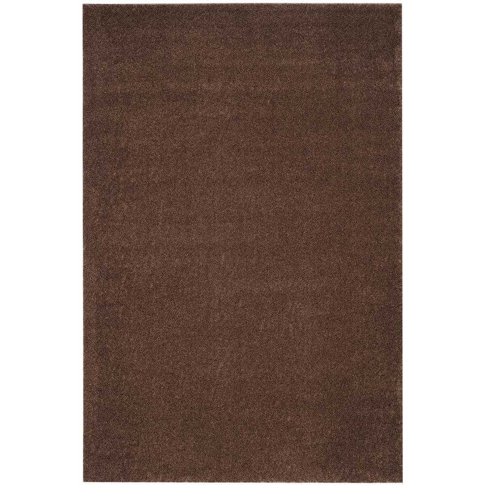 Arizona Shag Brown 3 ft. x 5 ft. Area Rug