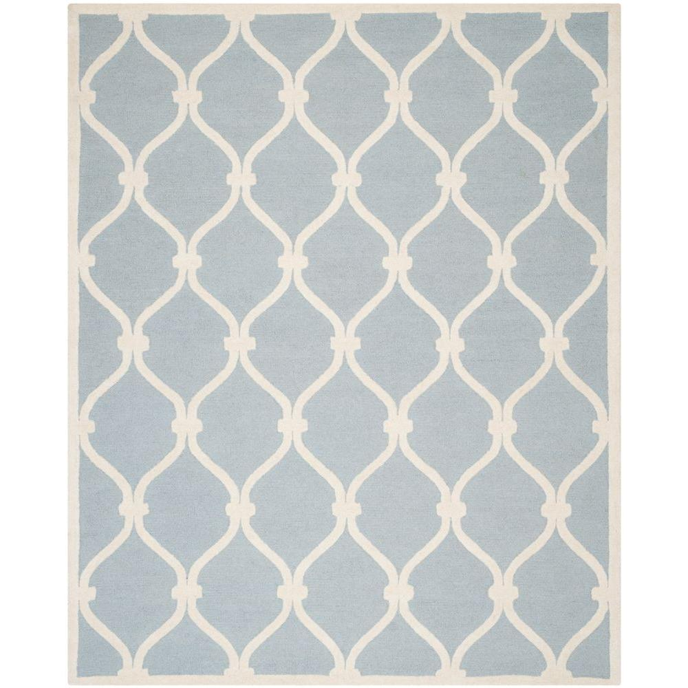Cambridge Blue/Ivory 8 ft. x 10 ft. Area Rug