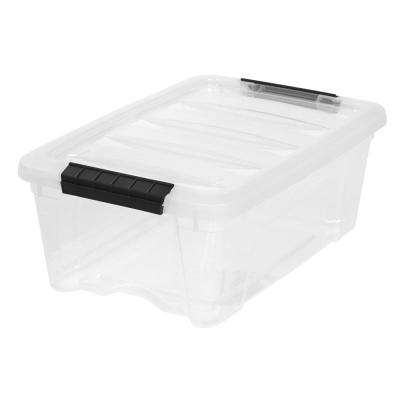 12 Qt. Stack and Pull Storage Box in Clear