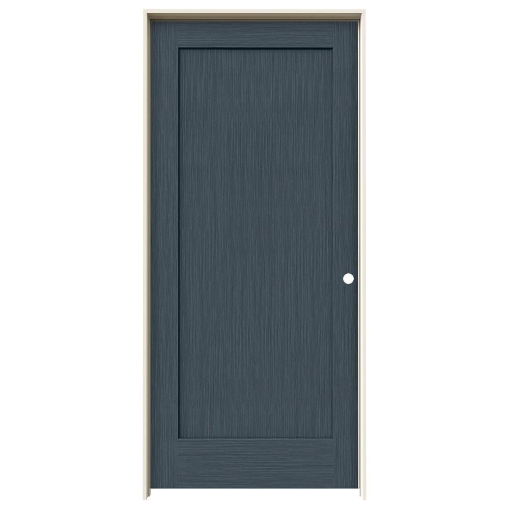 Incroyable JELD WEN 36 In. X 80 In. Madison Denim Stain Left Hand
