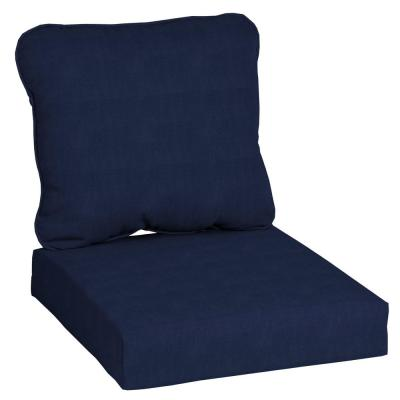 CushionGuard Midnight Deep Seating Outdoor Lounge Chair Cushion