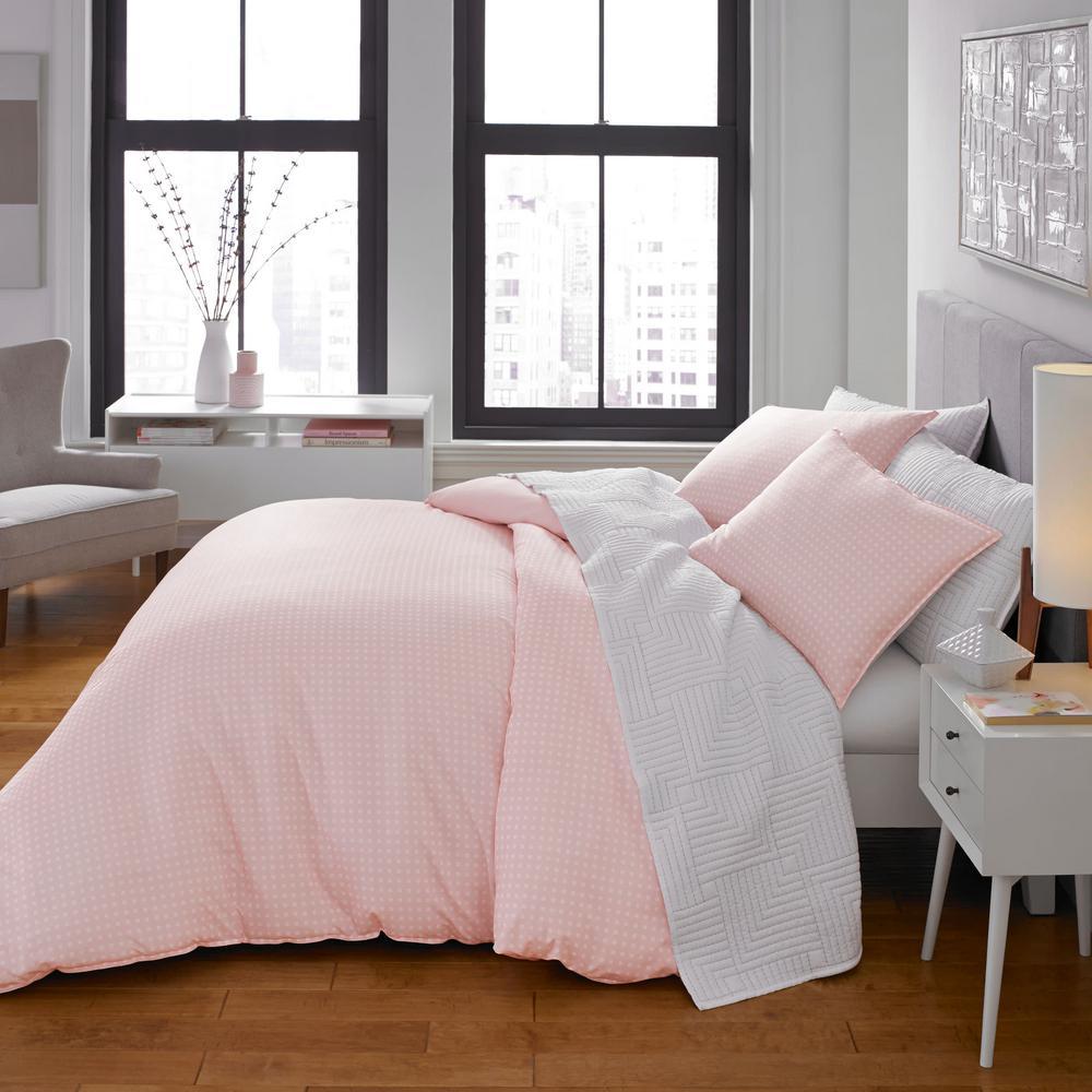 Penelope Pink 2-Piece Microfiber Twin Comforter/Sham Set