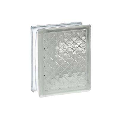 5.75 in. x 7.75 in. x 3.12 in. Diamond Pattern Glass Block (10-Pack)