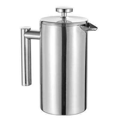 Dasha 2-Cup French Press in Silver