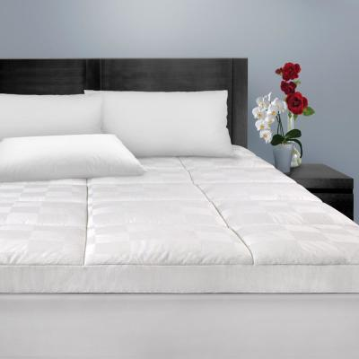 Luxury 15 in. Queen Polyester Mattress Pad