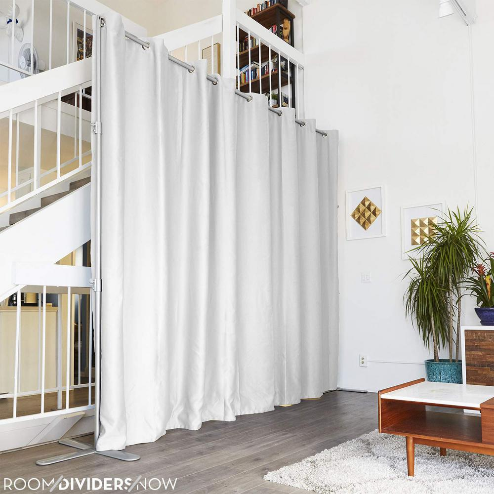 Roomdividersnow Curtain Rods Window Treatments The Home Depot