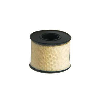 2 Meter (6-1/2 Feet) Roll of White Adhesive Clean Cut Tape