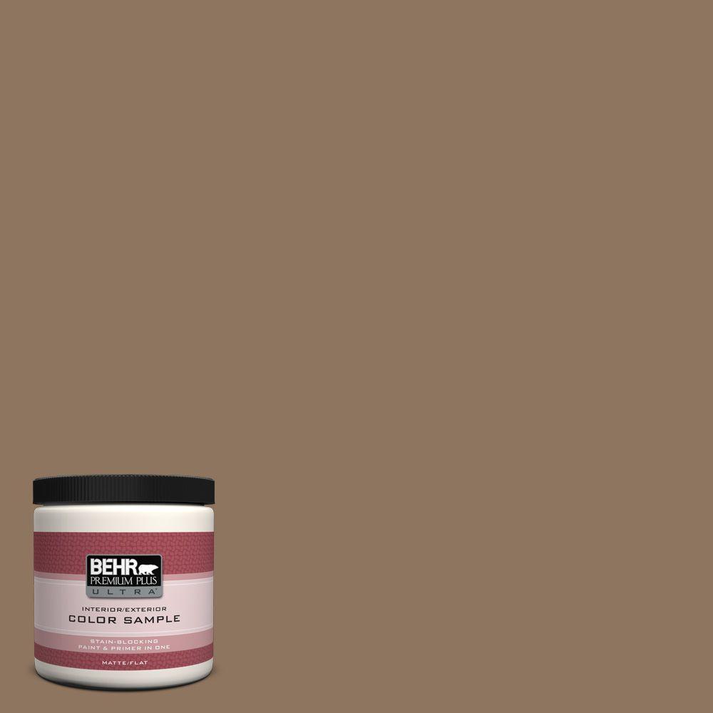 BEHR Premium Plus Ultra 8 oz. #700D-6 Belgian Sweet Interior/Exterior Paint Sample