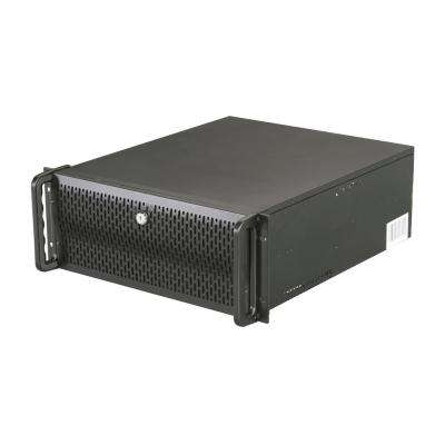 4U Rackmount Server Case with 8-Internal Bays and 4-Cooling Fans Included
