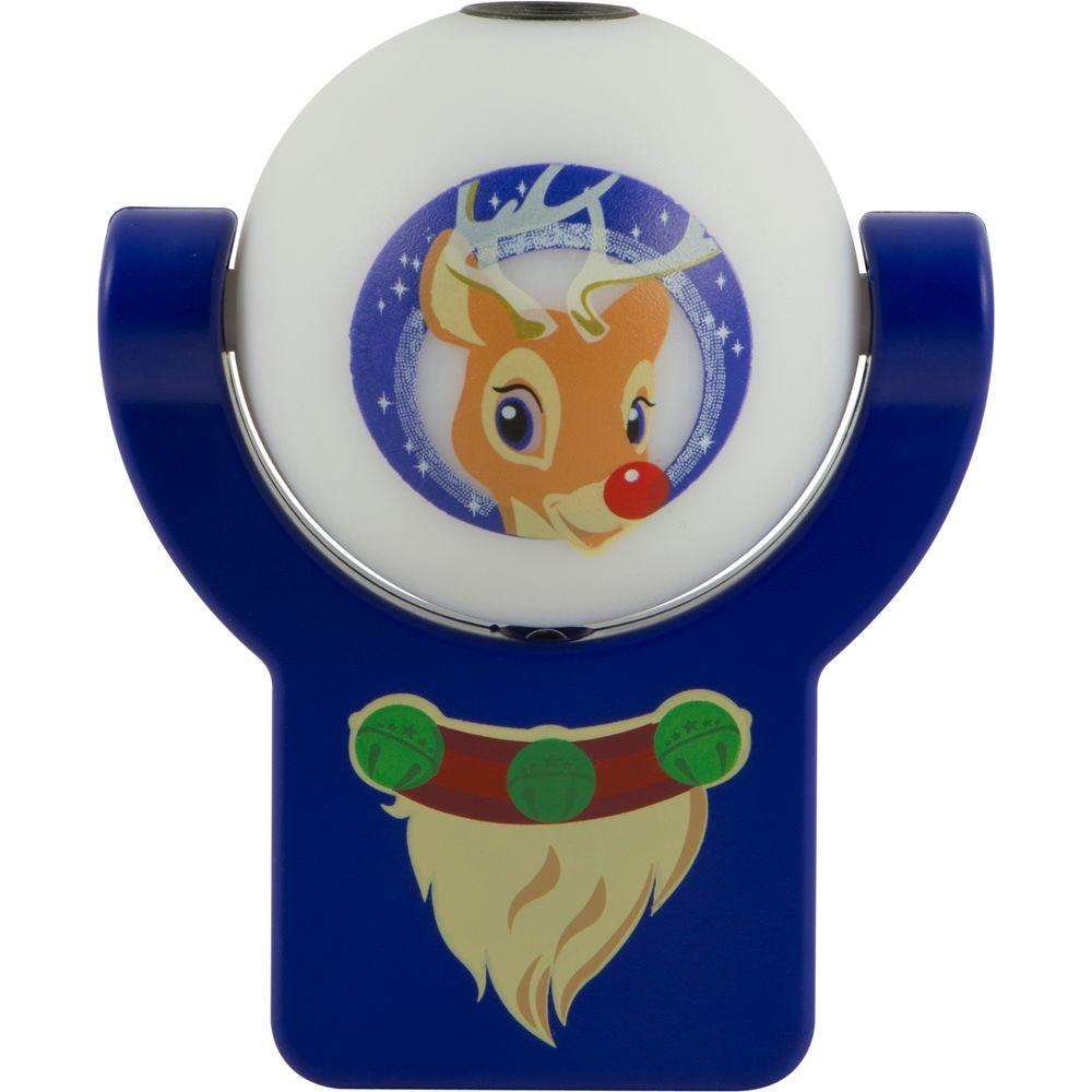 Projectables Holiday Reindeer Automatic LED Night Light
