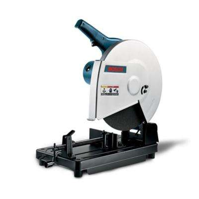 15 Amp 14 in. Corded Benchtop Cut Off Saw with 36 Grit Abrasive Aluminum Wheel