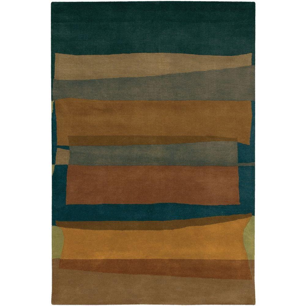 Kathryn Brown/Grey 5 ft. x 7 ft. 6 in. Indoor Area