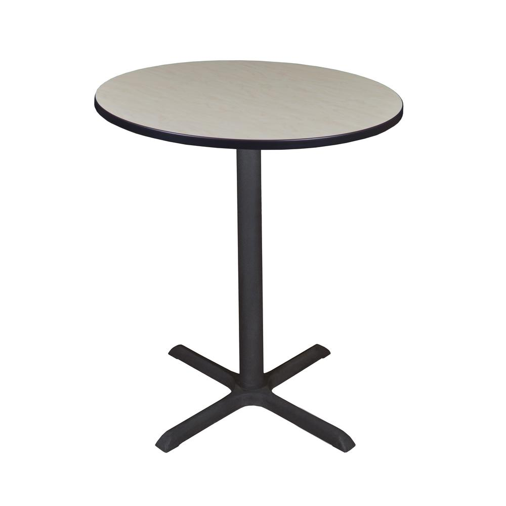 Cain Maple 36 in. Round Cafe Table