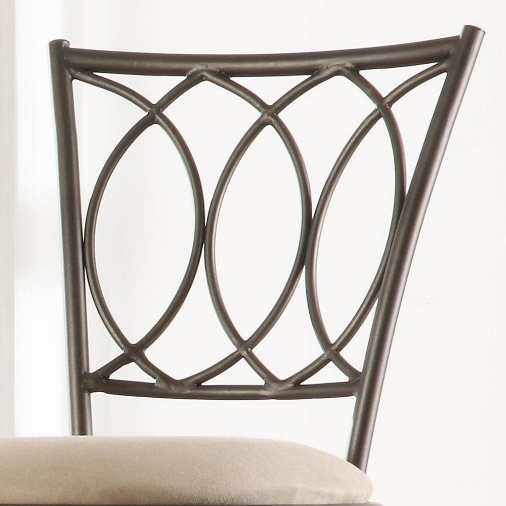 Fine Aileen 24 In 29 In Brown Adjustable Bar Stool Set Of 3 Creativecarmelina Interior Chair Design Creativecarmelinacom