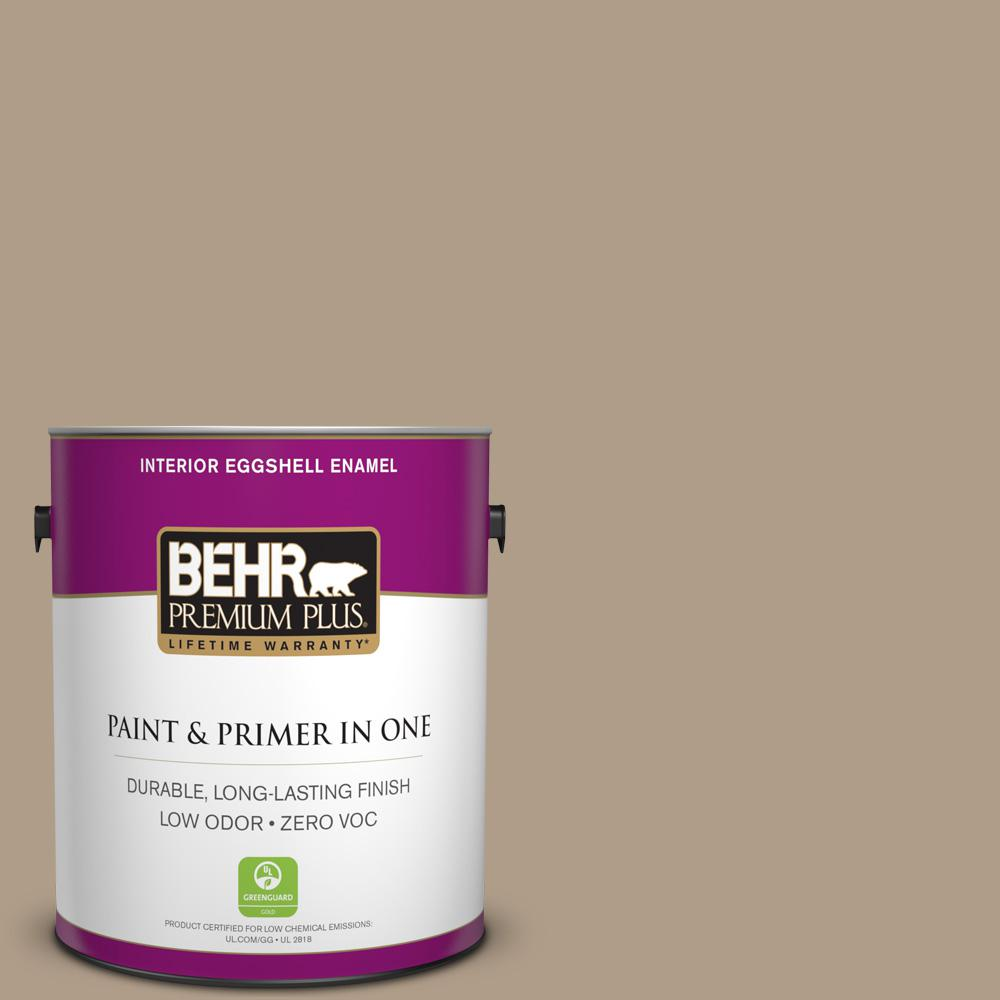 1-gal. #BNC-14 Over the Taupe Eggshell Enamel Interior Paint