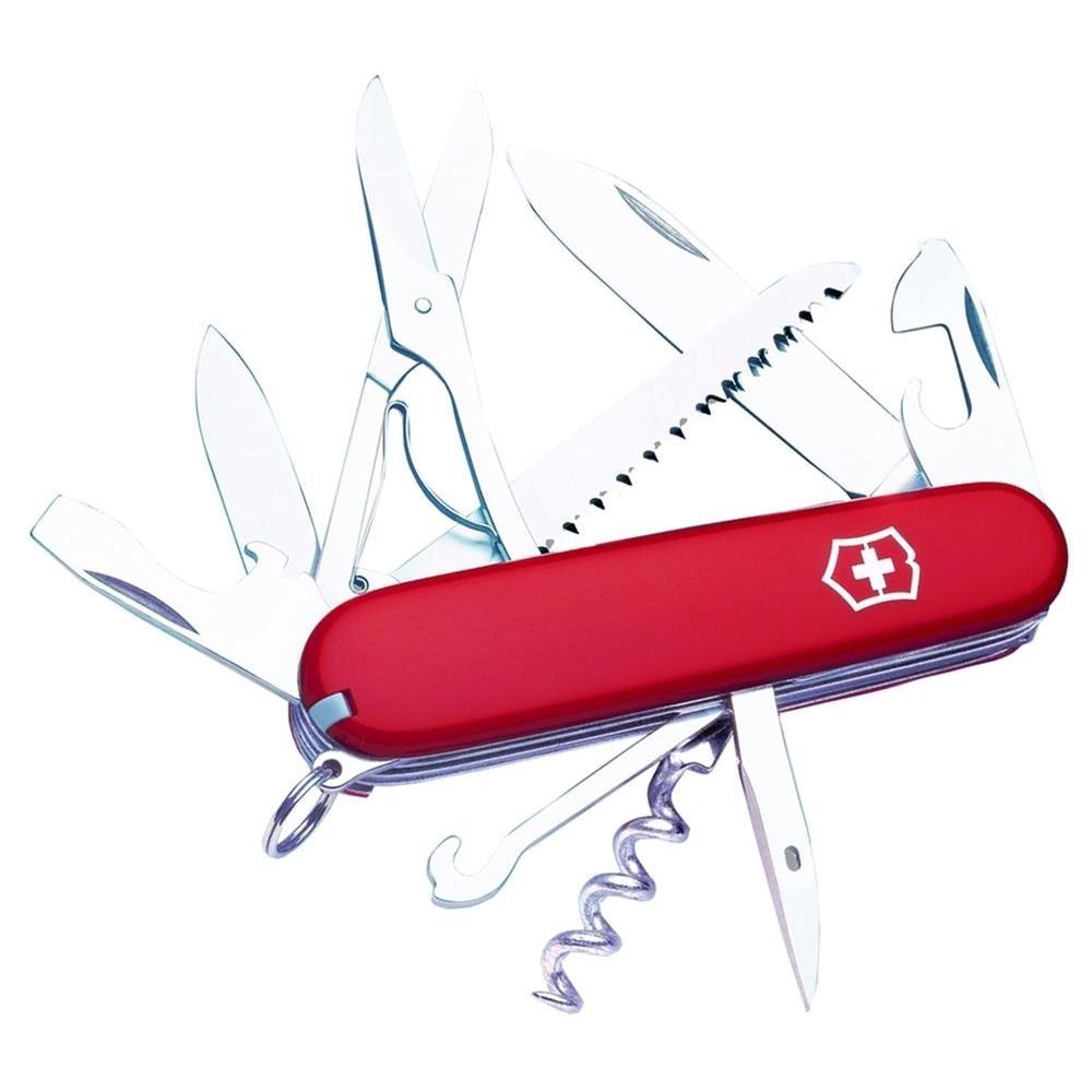 3.5 in. Outdoor Pocket Knife Huntsman Red