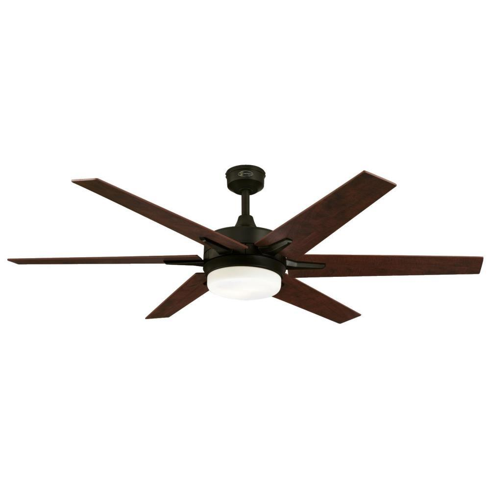 Westinghouse Cayuga 60 In Led Oil Rubbed Bronze Ceiling Fan