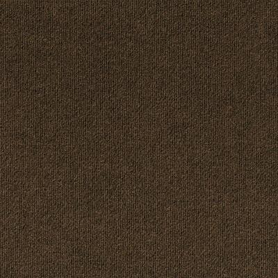 Peel and Stick Design Smart Mocha Rib 18 in. x 18 in. Residential Carpet Tile (10 Tiles/Case)