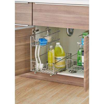 Pull out cabinet organizers kitchen storage - Bathroom cabinet organizers pull out ...