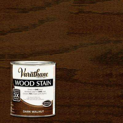 1 qt. 3X Dark Walnut Premium Wood Interior Stain (2-Pack)