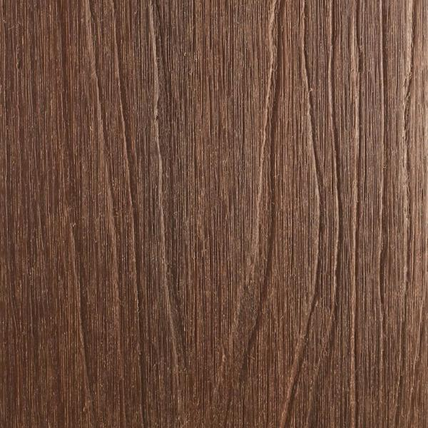 UltraShield Natural Magellan Series 1 in. x 6 in. x 8 ft. Brazilian IPE Grooved Composite Decking Board (10-Pack)