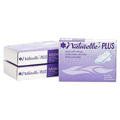 Naturelle Plus Sanitary Napkins (250-Carton)