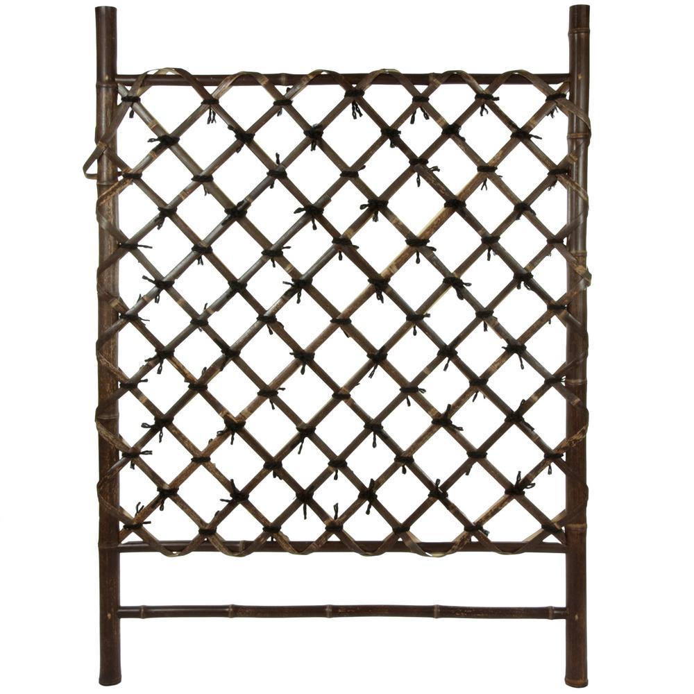 41 in. Bamboo Garden Fence