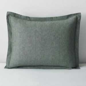 Landon Green Solid Cotton Standard Sham