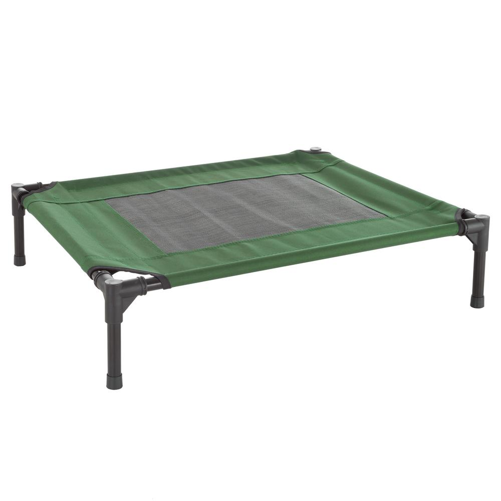 Petmaker Medium Green Elevated Pet Bed Hw3210135 The