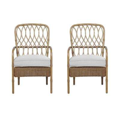 Clairborne Stationary Patio Dining Chairs Custom (2-Pack)