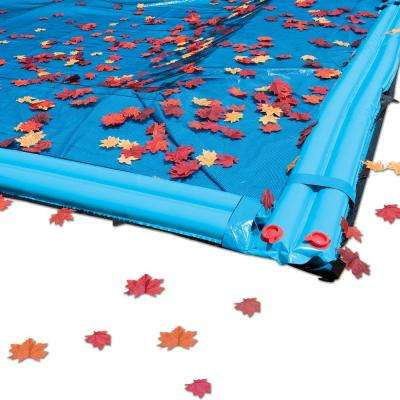20 ft. x 40 ft. Rectangle In-Ground Black Swimming Pool Leaf Cover