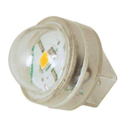 Clear Glass 0.5-Watt LED Wedge Base Landscape Lighting Replacement Bulb