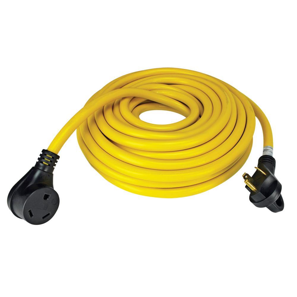 30 Amp 50 ft. RV Cord Grip Handle Plug