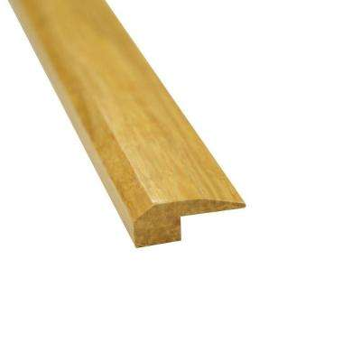 Natural 3/4 in. Thick x 2 in. Wide x 72-3/4 in. Length Strand Bamboo T-Molding