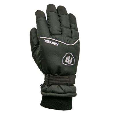 Extra Large Winter Polyester Black Ski Gloves