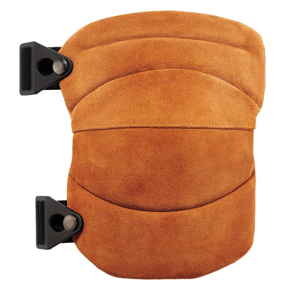 Ergodyne Ergodyne ProFlex Leather Knee Pads - Wide Soft Cap