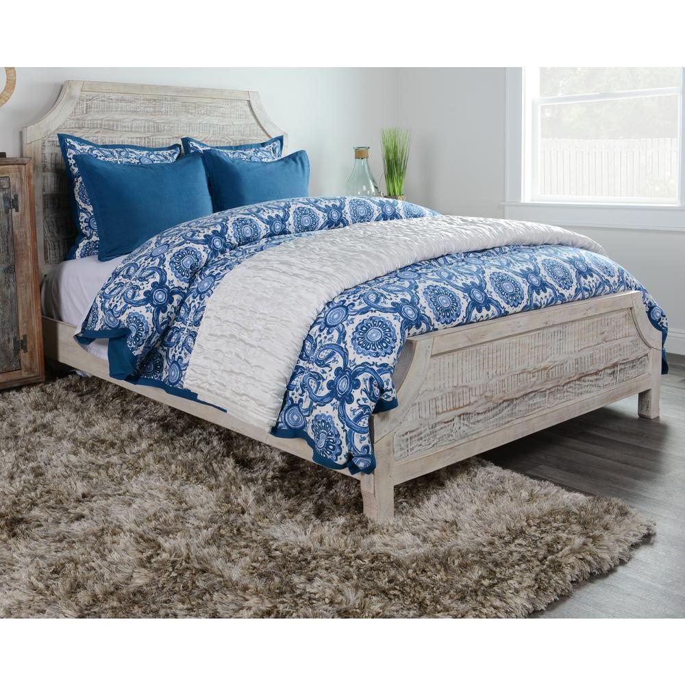 Resort Marine Cotton Queen Duvet Cover by