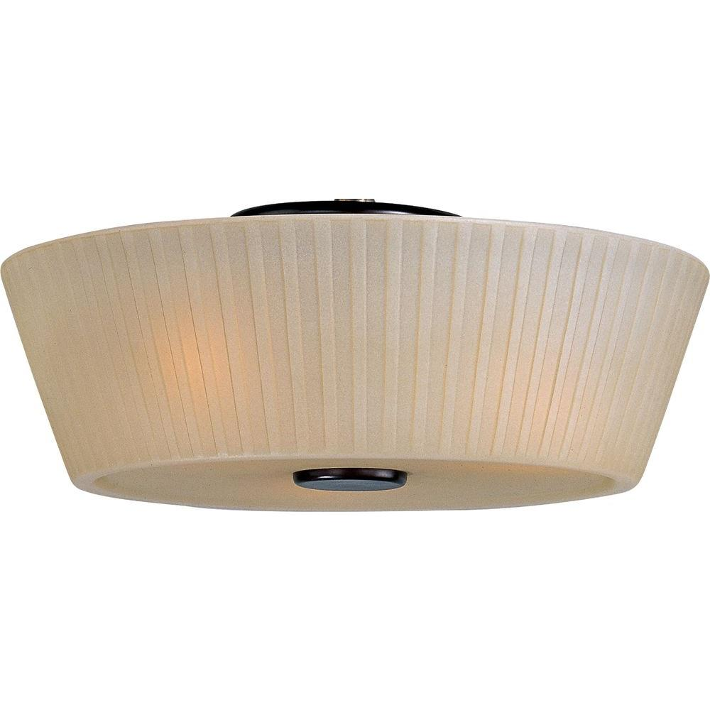 Maxim Lighting Finesse 3-Light Flush Mount