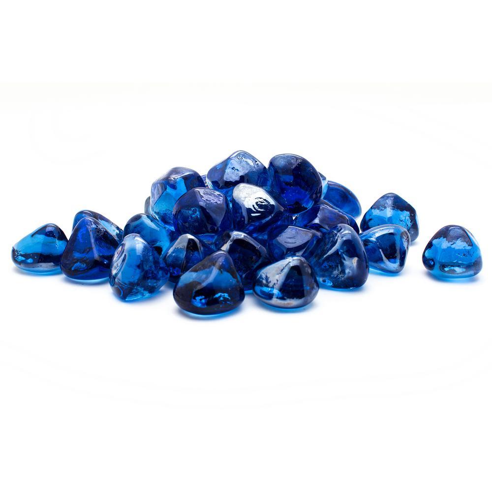 10 lb. Cobalt Blue Diamond Decorative Glass