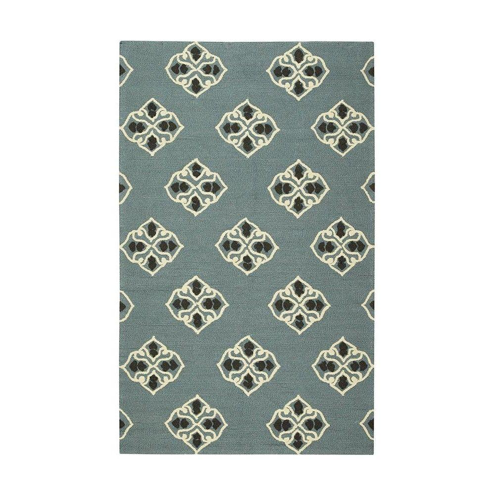Home Decorators Collection Dinora Soft Blue 2 ft. x 3 ft. Area Rug