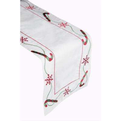 Holiday Toss 100% Polyester Table Runner