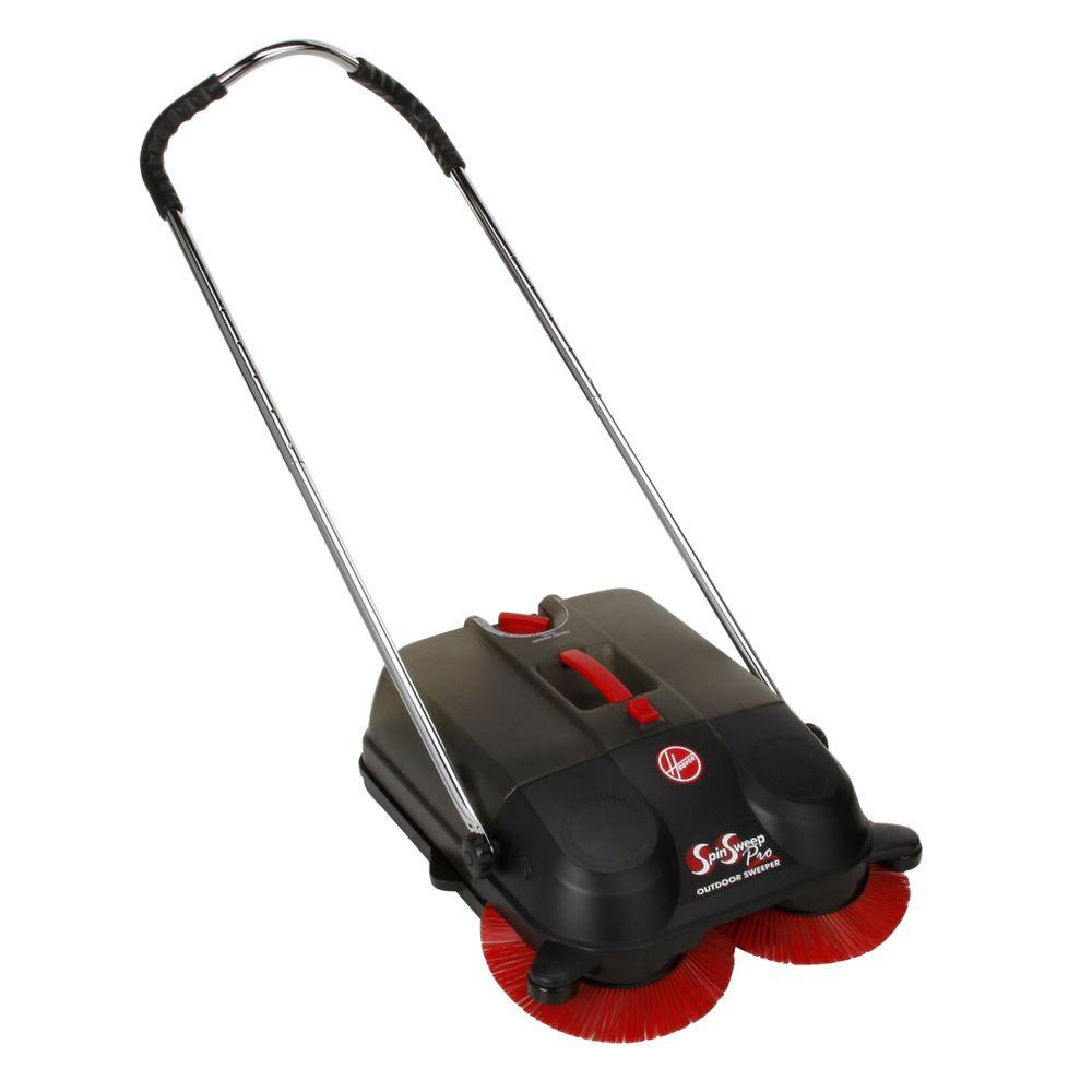 Hoover Commercial SpinSweep 18 In. Pro Outdoor Sweeper
