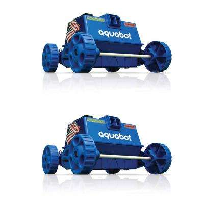 Pool Rover Junior/Jr. Above Ground Swimming Pool Robot Cleaner (2-Pack)