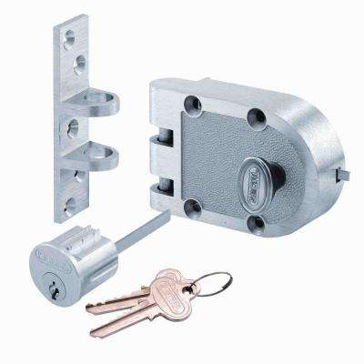 Single Cylinder Chrome Jimmy-Proof Deadbolt