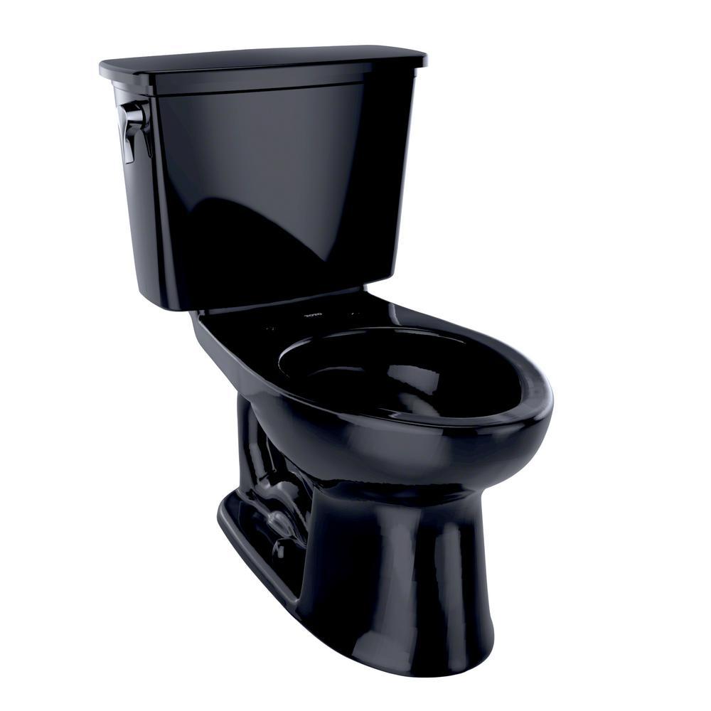 toto eco drake transitional ada compliant 2 piece gpf single flush elongated toilet in. Black Bedroom Furniture Sets. Home Design Ideas