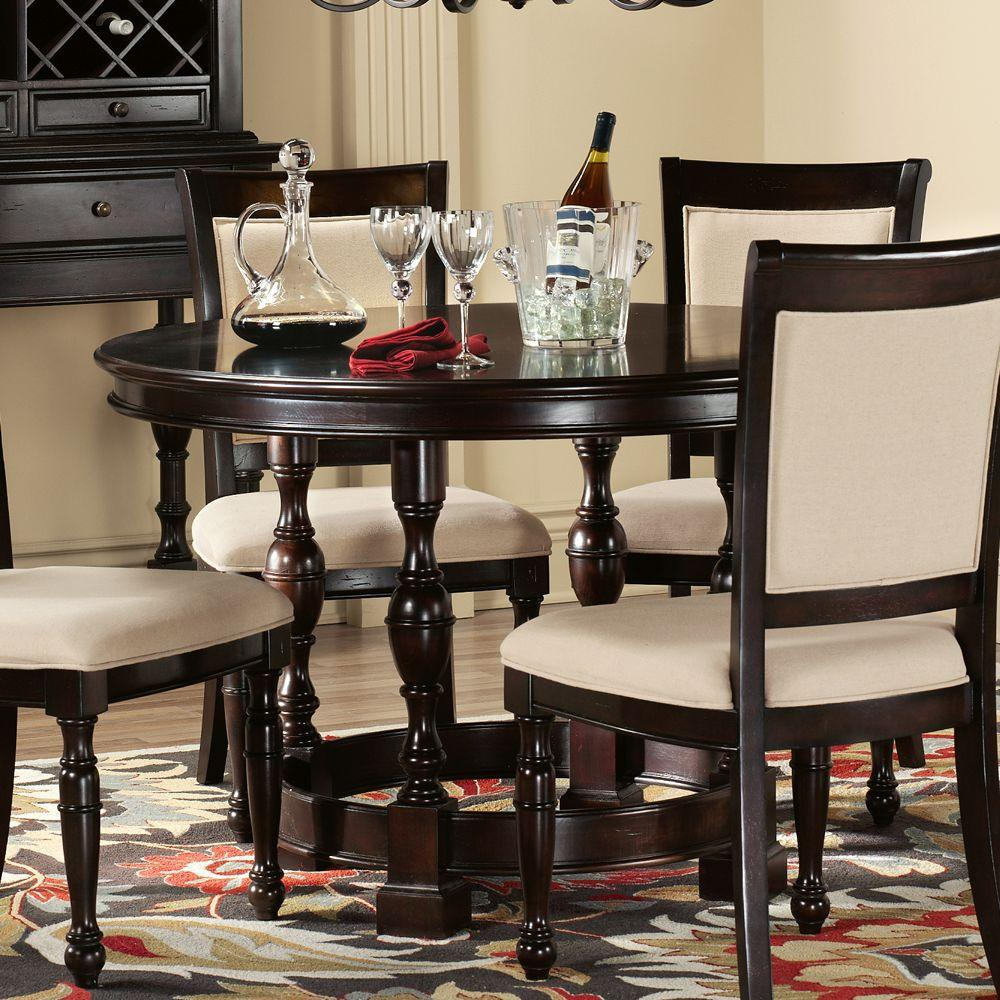 Home Decorators Collection Overton Rich Cherry Dining Table - Table Only